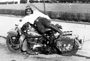 The kick-ass Bessie Stringfield, first African-American woman to ride a motorcycle across the US solo